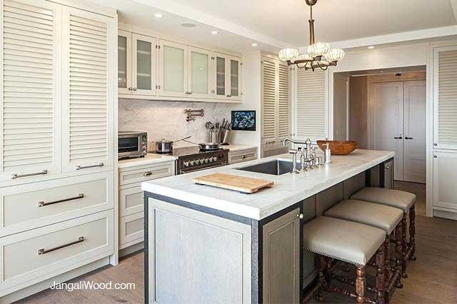 انواع مدل های کابینت آشپزخانه - لوورد