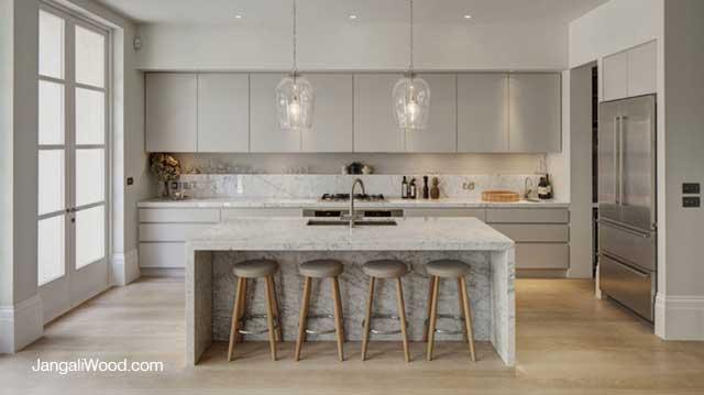 انواع مدل های کابینت آشپزخانه - فلت