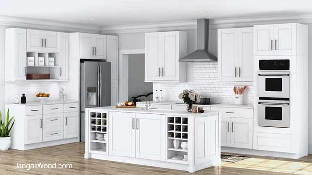 انواع مدل های کابینت آشپزخانه - شیکر